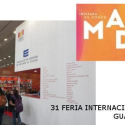 31 Feria Internacional del Libro – Guadalajara 2017